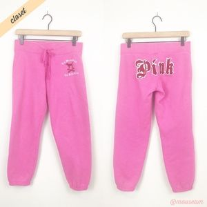 [VS Pink] Too Much Pink Too Little Time Sweatpants